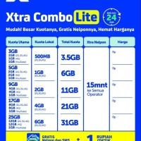 Perdana data XL 25 Gb kuota 24 jam (Kuota 12gb +12 gb + 1GB YOUTUBE)