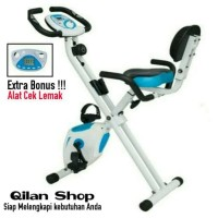 Alat Fitness Sepeda Statis X Bike Sandaran 3311 Divo