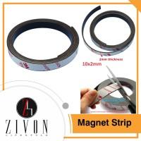 Magnet Strip Flexible 10x2mm Sticker 3M Kulkas Kasa Nyamuk ZF1