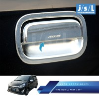 New Agya 2017 Pegangan Pintu JSL/Handle Cover Chrome/Aksesoris Agya