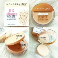 MAYBELINE BB DREAM WONDER BEDAK 2IN1 POWDER / MATTE