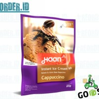 Haan Ice Cream Mix Cappucino 85gr Bahan Bubuk Es Krim