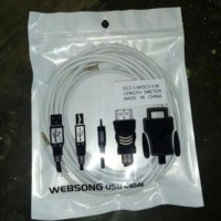 Kabel Audio Jack 3.5Mm Stereo Male To Jack 3.5Mm Stereo Male 5 Meter
