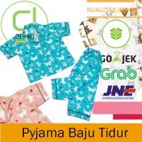 Pyjama Piyama Baju Tidur Anak Anak Kualitas Impor