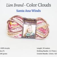 Benang Lion Brand Color Clouds - Santa Ana Winds (200)