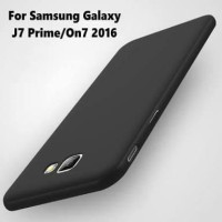 TERMURAH SoftCase Black Matte Samsung Galaxy J7 Prime ON 7 Prime