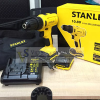 Bor Tangan Baterai Cordless 10.8 V Stanley SCD 12 S2
