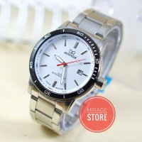 Jam Tangan Mirage 85-18 Silver For Men