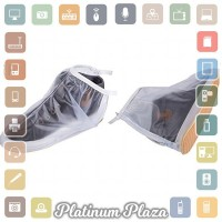 Rain Cover Sepatu Waterproof Size M - Transparent`6KII1N-