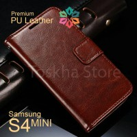 Wallet Case Samsung S4 MINI I9190 Premium Leather