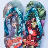 Sandal Jepit Anak Kids Slipper Avengers(Blue) 31-35 Good Quality