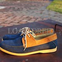 Sepatu Kets Jack Zapato Blue Pria - Sneakers Casual Biru Cowok Dior