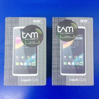 Acer Liquid Z220 - Resmi - Hitam / Putih
