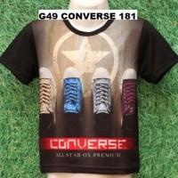harga G49 Converse 181 Kaos Anak Laki Sepatu Kets Sneaker Tokopedia.com