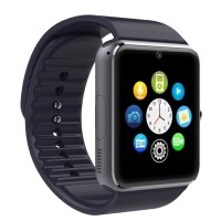 JAM TANGAN PINTAR CAMERA, TELEPON, SMS, SMARTWATCH GT08 ANDROID, APPLE