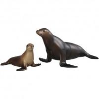 Mainan Figure Miniatur Replika Hewan Binatang Tomica Anjing Singa Laut