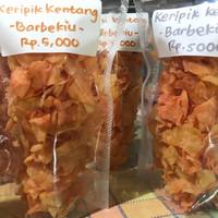 Jual keripik kentang handmade Murah