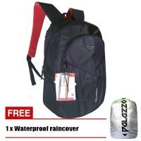 Palazzo Tas Ransel 35545 Polyester Nylon Original - Black + Raincover