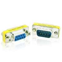 CONVERTER SERIAL RS232 DB9 PIN MALE FEMALE