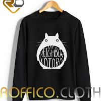 Sweater Logo My Neighbor Totoro - Roffico Cloth
