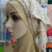 Jual Pashmina Brukat Turban Syal Murah