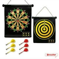 Jual safety magnetic dart game set 6 magnet arrow kuat large Murah
