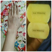 Sabun Acid Whitening kojic original 1000%