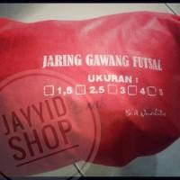 Jaring Gawang ( Bola ) Futsal Premium 3mm/ 3 mm Gto Bagus Sepasang Set