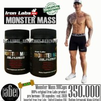 MONSTER MASS 90 CAPS / PROHORMONE / SUPLEMEN FITNESS / SUPLEMEN GYM