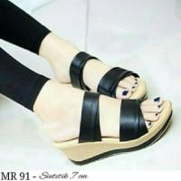 Sepatu kode MR 91 sintetik 7cm