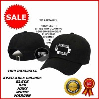 TOPI BASEBALL SINGLE WOLES F8 - LS