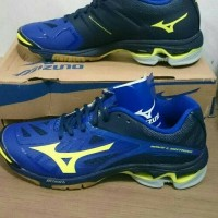 SEPATU MIZUNO WAVE LIGHTNING Z2 - SURF THE WEB NEON YELLOW DRESS BLUES b4b8452c75