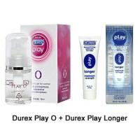 Paket Hemat Durex Play Longer + Durex Play O