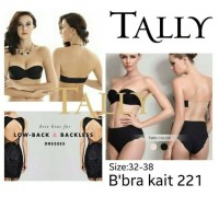 Tally Backless 221 Invisible Bra/ Bra Party no pengait/ Bio Bra
