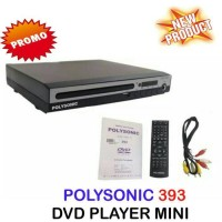 Polysonic DVD-393 VCD,DVD & MP3-DVD KARAOKE PLAYER USB-Promo