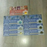 Voucher MAP ZARA, burger king