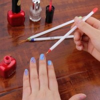 3 pcs set striping brush kuas stripe liner nail art