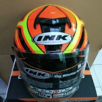 Helm ink dynamic yellow red fluo