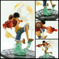 Luffy FZO Battle Action Figure One Piece Monkey D Bandai Figuarts Zero