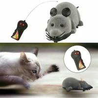 mainan tikus remote jalan