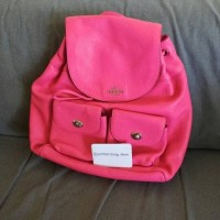 Coach - Billy Backpack in Perforated Leather (Pink)
