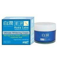 HADA LABO shirojyun night ultimate whitening cream krim malam hadalabo