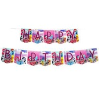 Banner HBD My Little Pony / Bunting Flag My Little Pony