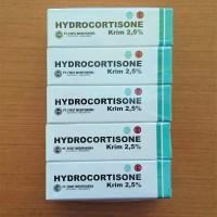 Hydrokortison Hydrocortisone 2.5% salep anti alergi, gatal