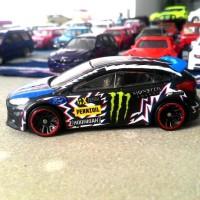 LM diecast ford fokus custom Ken block skala 64 by hot whe