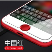iPhone 7 / 7 Plus Aluminum Touch ID Home Button Sticker - Red Red