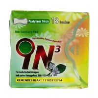 IN3 Bio Sanitary Pad Pantyliner Pembalut Herbal