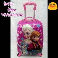 Jual Sale ! Tas Koper TravelAnak 16 Inch Frozen Elsa Murah