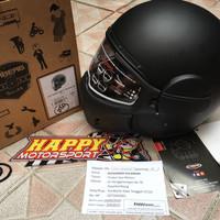 Helm Caberg Ghost Fiber super ringan made in Italy black matt size L