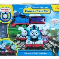 Jual mainan thomas train set lintasan kereta api track keretaan edukasi Murah
